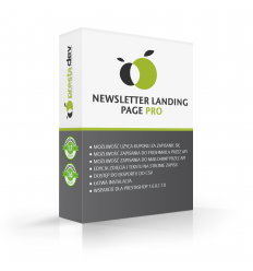 Newsletter landing page / save page for PrestaShop 1.6.x, 1.7.x