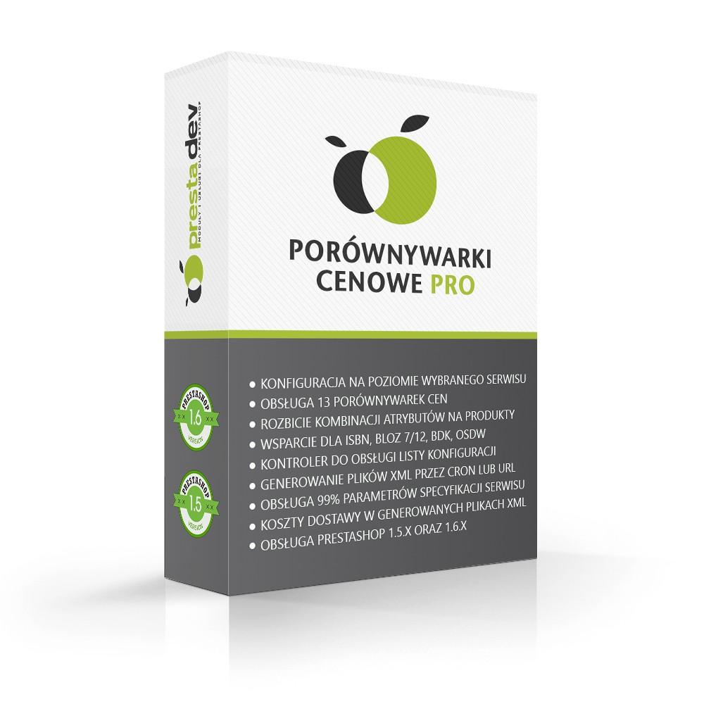 Comparison-Shopping Pro für PrestaShop 1.5 x und 1,6 x - PrestaDev.pl