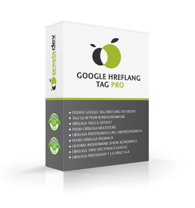Google Hreflang tag for PrestaShop 1.5 x and 1.6 x